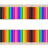Crayon abstrait de couleur de backgroud Photos libres de droits