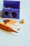 crayon affilé Photos stock
