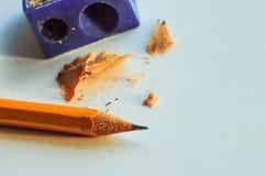 crayon affilé Images stock