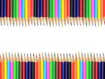 Crayon backdrop Royalty Free Stock Photography