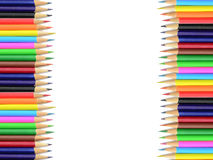 Crayon backdrop Stock Photography