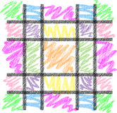 Crayon Background Royalty Free Stock Photos
