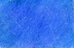 Crayon blue background Royalty Free Stock Photos