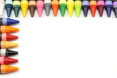 Crayon Border Stock Photography