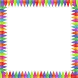 Crayon Border Stock Image