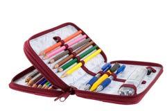 Crayon-boîtier Images stock