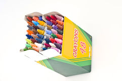 Crayon Box Royalty Free Stock Photos