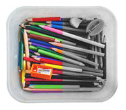 Crayon in a box Stock Photography