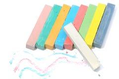 Crayon chalk Stock Image