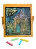 Crayon chalk Stock Photos