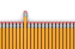 Crayon (chemin de coupure inclus) Photo stock