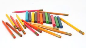 Crayon for childs Royalty Free Stock Images