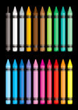 Crayon collection Royalty Free Stock Photo