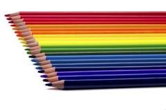 Crayon coloré d'isolement Photos stock