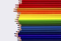 Crayon coloré d'isolement Images libres de droits