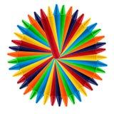 Crayon coloré de vax Photo stock