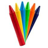 Crayon coloré de vax Photos stock