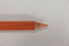 Crayon coloré sur le fond blanc Image libre de droits