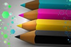 Crayon color pencil Royalty Free Stock Image