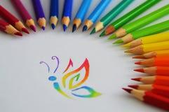 Crayon Stock Photo