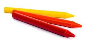 Crayon. Royalty Free Stock Image
