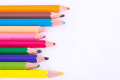 Crayon colors Royalty Free Stock Image