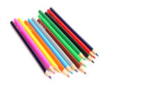 Crayon. Colour crayons on white background Stock Photo