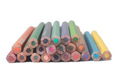 Crayon. Isolated on white background Stock Photography