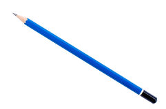 Crayon d'isolement avec le chemin de coupure Image stock