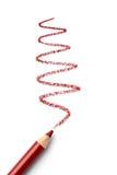 Crayon d'ombre d'oeil photographie stock