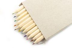 Crayon dans le cadre Photographie stock libre de droits
