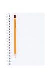 Crayon de cahier. Image libre de droits
