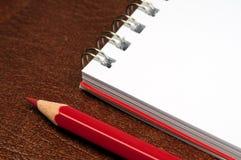 crayon de cahier Photos libres de droits