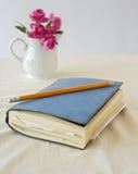 crayon de cahier Photos stock