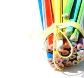 crayon de carte de fond Images libres de droits