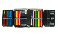 crayon de cas Photos libres de droits