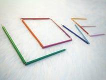 Crayon de coloration d'amour Image stock