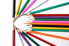 Crayon de couleur images libres de droits