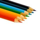 Crayon de couleur. Images stock