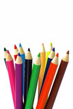 Crayon de couleur photos stock