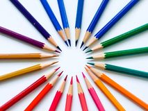 Crayon de couleur Photo libre de droits