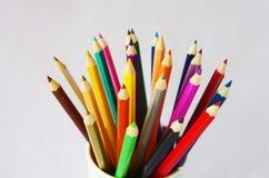 Crayon de couleur Photographie stock libre de droits
