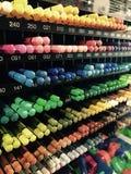 Crayon de couleur dans la boîte Photographie stock