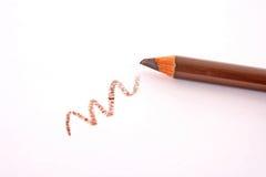 Crayon de sourcil de Brown Photos libres de droits