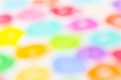 Crayon defocused background Royalty Free Stock Images