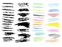 Crayon Doodles Stock Images