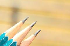 Crayon en bois Photo libre de droits