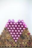 Crayon et amour Image libre de droits
