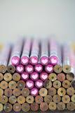Crayon et amour Photo libre de droits