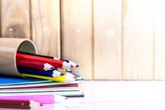 Crayon et pastel Images libres de droits